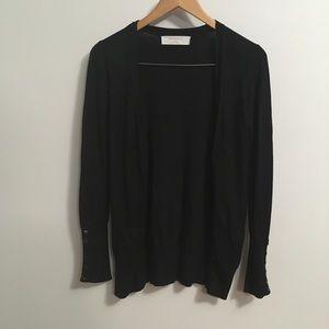 Zara Knit black cardigan